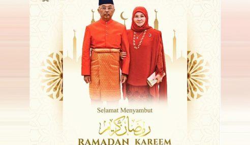 Agong, Permaisuri Ucap Selamat Menyambut Ramadan