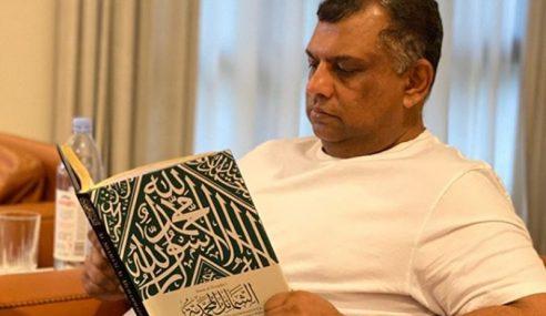 Tony Fernandes Baca Buku Akhlak Nabi Muhammad SAW