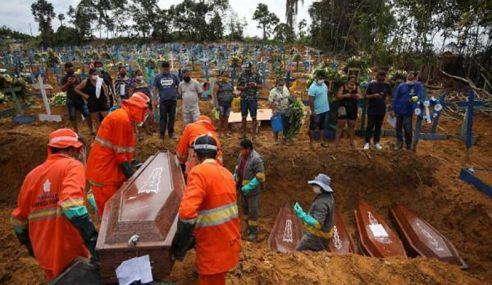 Brazil Catat 1,176 Kematian Covid-19 Tempoh 24 Jam