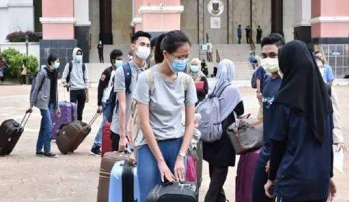 584 Pelajar IPT Dihantar Pulang Hari Ini