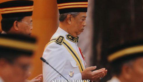 Muhyiddin Hadir Sidang DUN Johor
