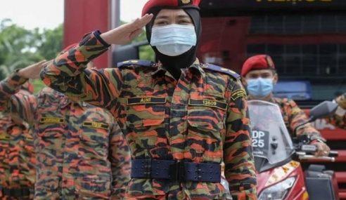 Hargai Jasa Anggota Bomba 'Frontliners' Kekang Covid-19