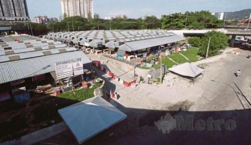 180 Positif Membabitkan Kluster Pasar Borong
