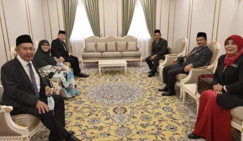 23 ADUN PN Selesai Menghadap Sultan Kedah