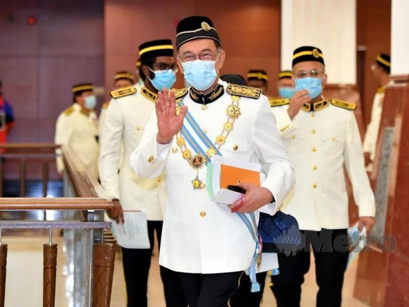 Anwar Tak Hadir Sidang Media Mahathir