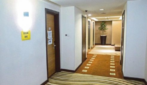 Caj Kuarantin Hotel Bermula 1 Jun