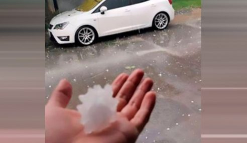 Hujan Batu Virus Korona Melanda Mexico