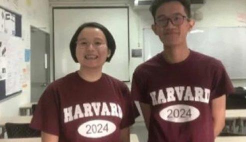 2 Pelajar Malaysia Bakal Ke Harvard