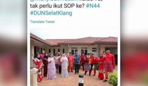 ADUN Selat Kelang Dikompaun RM1,000