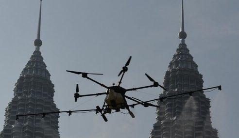 Orang Awam Perlu Kelulusan CAAM Terbangkan Dron