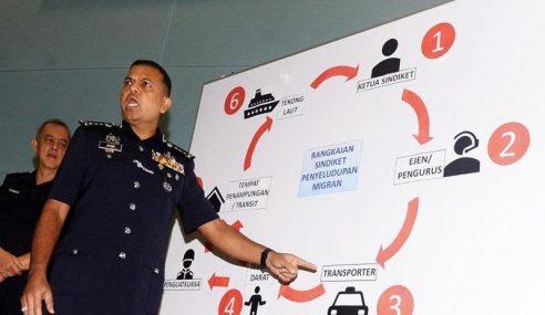 18 Anggota Keselamatan Terlibat Sindiket Jenayah Ditahan