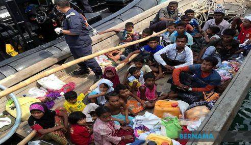 Guna Dron Kekang Kemasukan Pelarian Rohingya