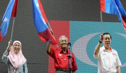 PKR Tolak Mahathir Sebagai Calon PM