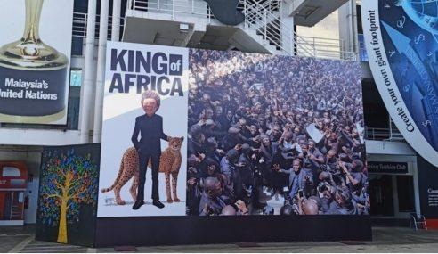 Petisyen Tuntut Lim Kok Wing Turun Poster King Of Africa