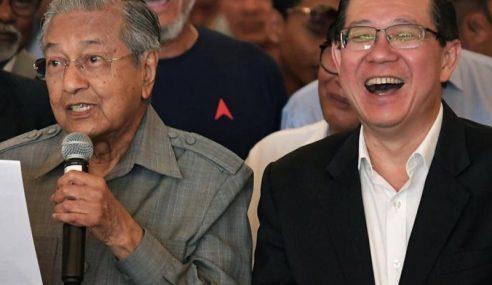 Najib Saran Jadikan Mahathir Presiden DAP