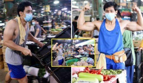 Abang Sado Nekad Kerja Di Pasar Borong