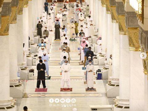Alhamdulillah, Masjid Nabawi Kembali 'Ceria'