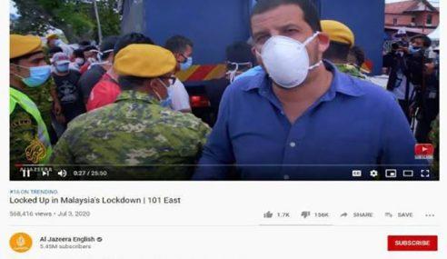 Laporan Al Jazeera Cemarkan Imej Negara