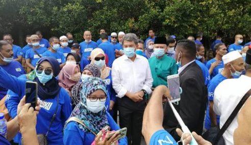 Pemimpin UMNO Hadir Beri Sokongan Kepada Najib
