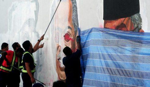 Sultan Selangor Murka Perbuatan Conteng Mural Pemimpin