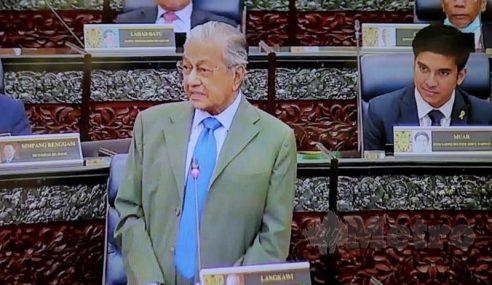 """""""Ramai Salahkan Saya"""" – Mahathir"""