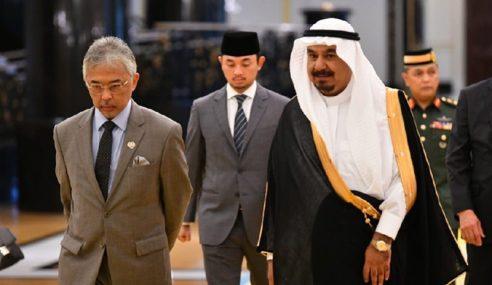 Agong Berkenan Terima Menghadap Duta Besar Arab Saudi