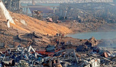 79 Bahan Kimia Dijumpai Di Pelabuhan Beirut