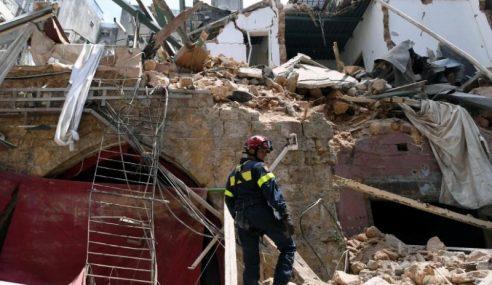 16 Ditahan Berhubung Letupan Di Beirut