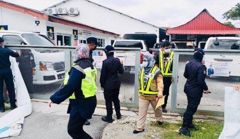 Pejabat Azmin, Hilman Disita MPS