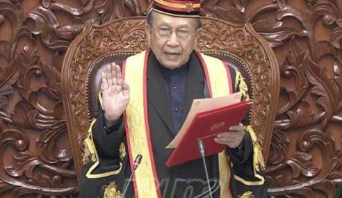 Rais Yatim Dilantik Speaker Dewan Negara Ke-18