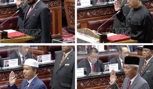 4 Senator Angkat Sumpah