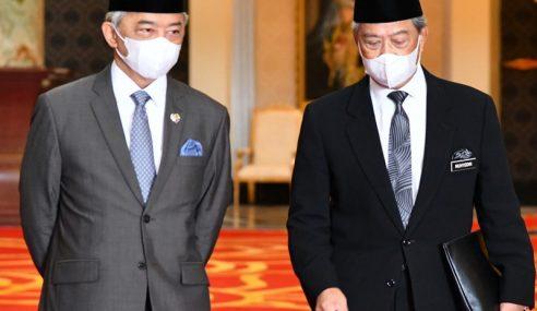 Agong Titah Ahli Dewan Rakyat Sokong Belanjawan 2021