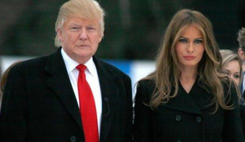 Trump, Isteri Positif Covid-19