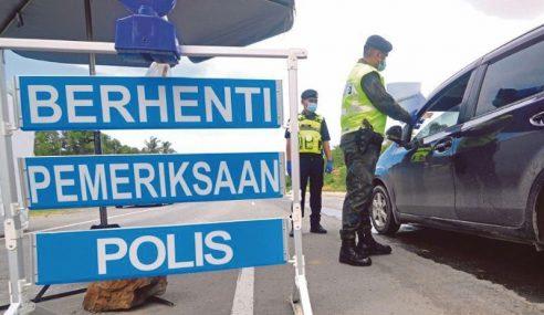 Tak Dibenarkan Keluar Masuk Selangor, KL, Putrajaya
