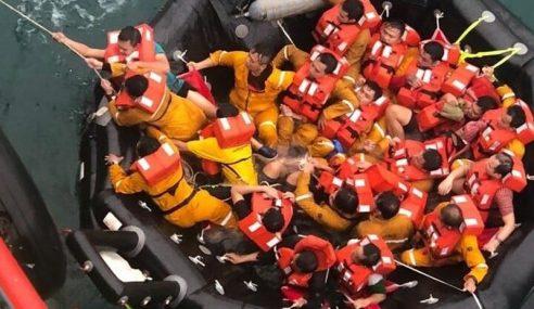 Seorang Maut Kapal Dayang Topaz Karam Di Kuala Baram