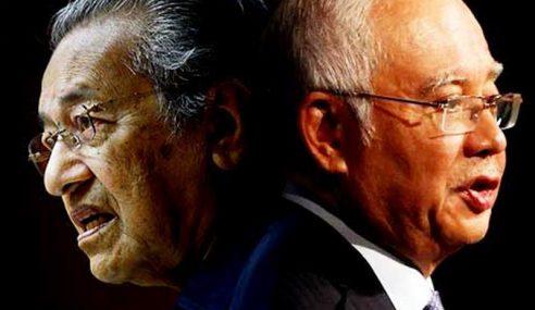 Najib Bidas Mahathir Anggap HSR Tak Penting