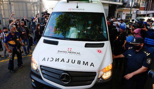 Kematian Maradona Didakwa Kerana Ambulans Lambat Tiba