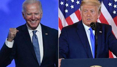 Trump Masih Berada Di Belakang Biden