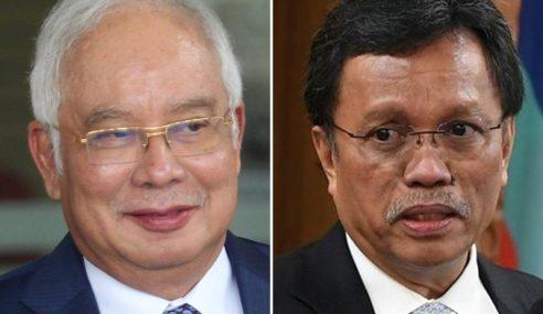 Najib Seloroh Konon Bakal Bergabung Dengan Shafie