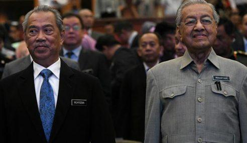 Rakyat Pilih Muhyiddin Tadbir Negara, Bukan Mahathir