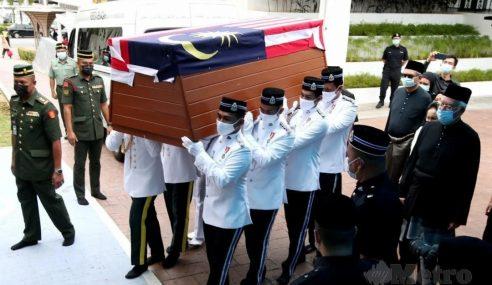 Jenazah Tun Rahah Selamat Dikebumikan