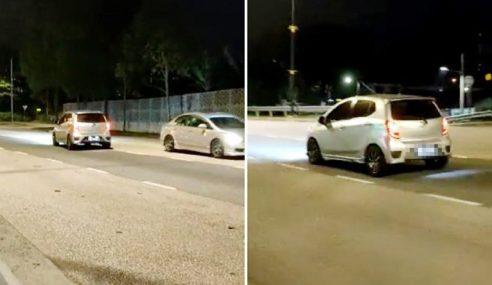 Polis Trafik Mabuk, Memandu Lawan Arus Ditahan