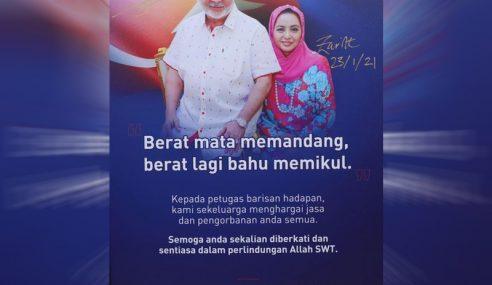 Sultan, Permaisuri Johor Zahir Kata Semangat Buat Petugas Perubatan
