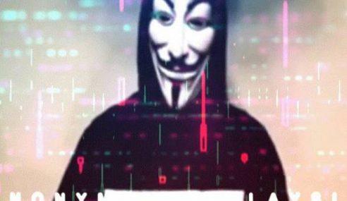 Penggodam Anonymous Beri Amaran Kepada Kerajaan Malaysia