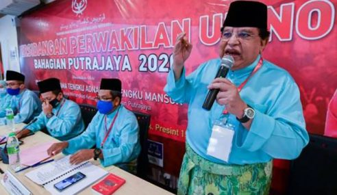 UMNO Putrajaya Sokong Muhyiddin
