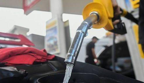 Harga Petrol Naik 3 Sen, Diesel Naik 4 Sen