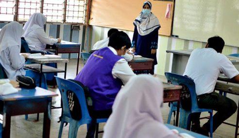 Calon Peperiksaan Utama Di Negeri PKP Dibenar Ke Sekolah
