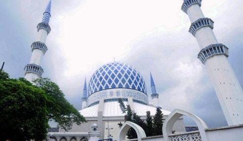 Sultan Selangor Dukacita Dakwaan Masjid, Surau Ditutup