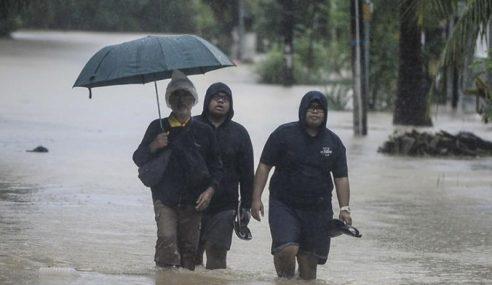 Jumlah Mangsa Banjir Di Pahang, Johor, Kelantan Menurun