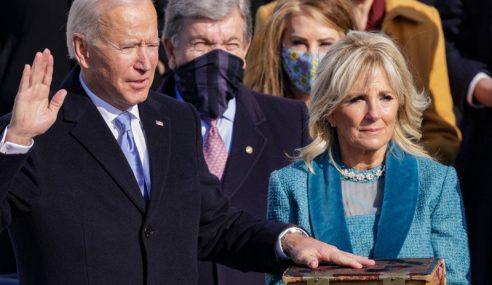 Joe Biden Angkat Sumpah Presiden AS